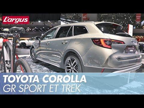 GENÈVE 2019 - Toyota Corolla GR Sport et Trek : 2 versions inédites