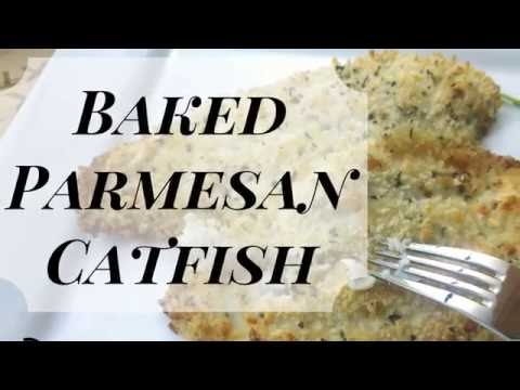 Baked Parmesan Catfish