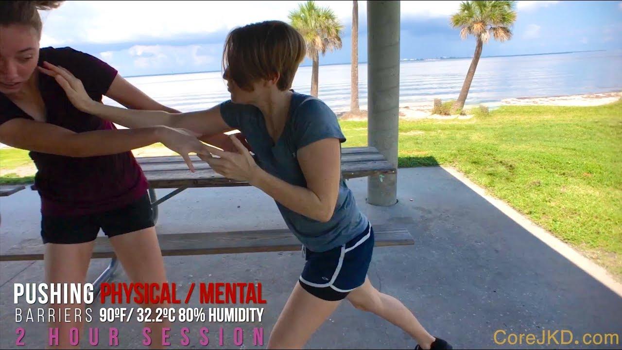 Core JKD Women — Clinch Hammer Flow Rebel Wing Chun Silat