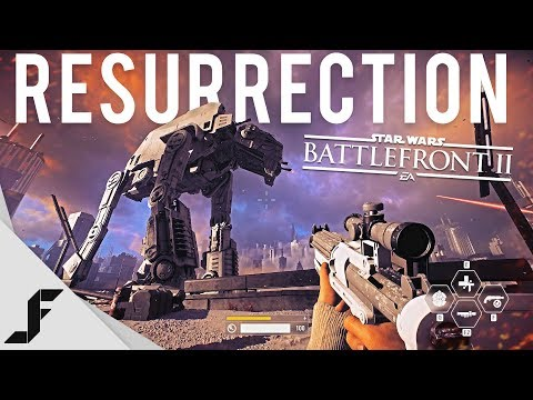 RESSURECTION - Star Wars Battlefront 2 campaign walkthrough