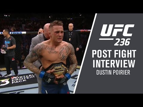 """UFC 236: Dustin Poirier - """"That Octagon is a Theater of the Unknown"""""""