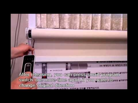 How to set the Remote controller with Tubular motor Video.avi