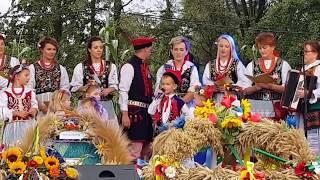 Dożynki Morawica 2017   wystep wsi Cholerzyn