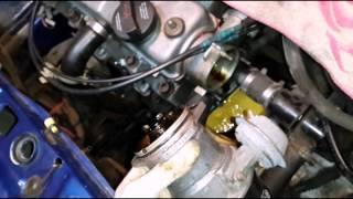 видео Зажигание на ВАЗ 2109 с карбюраторным и инжекторным двигателем, схема