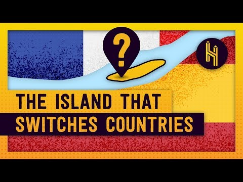 The Island That Switches Countries Every Six Months