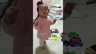 아무노래 챌린지 12개월 아기 도전!