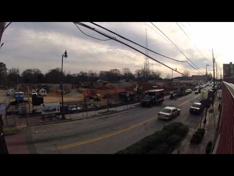 Conference Center Construction Timelapse February.mpeg