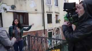 Как снимали клип