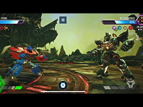 Act 4 Necrotronus final battle! -Transformers Forge To Fight |
