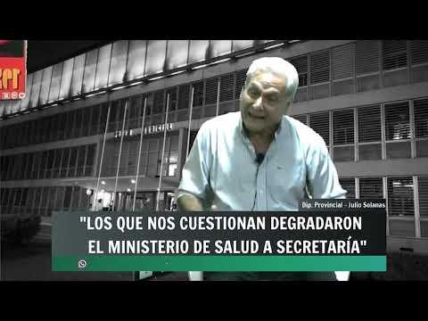 """Solanas: """"La Ministra demostró que se trabajó con responsabilidad y sin privilegios"""""""