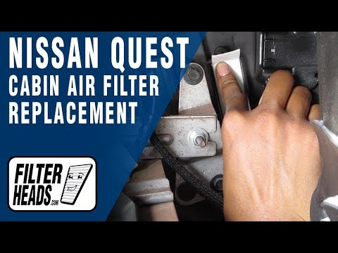 How To Change Out Your A C Blower Motor Nissan Quest Doovi