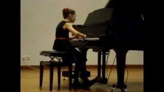 Jasmin Schlegel, Schubert Impromputs Nr. 2 in Es-Dur op. 90 D899