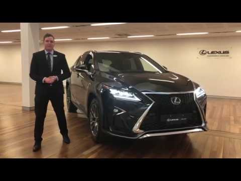 RX 350 F Sport review with John Talbot