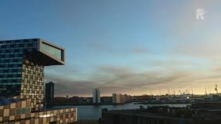 Rook ernorme brand Waalwijk tot in Rotterdam te zien
