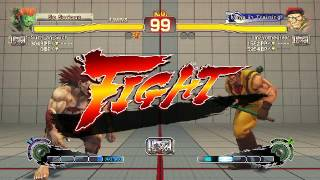 Ultra Street Fighter IV battle: Blanka vs Rolento