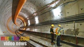 Wajah Megah Mega Proyek MRT Jakarta