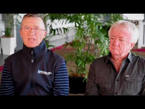 Kevin Langby & Malcolm Johnston Chat With Steve Hart