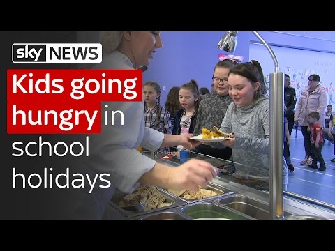 Hunger in the school holidays: Millions of British children