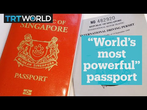 Singapore now has the world's most powerful passport