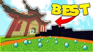 BEST SKYBLOCK SERVER | Minecraft Skybounds Islands!
