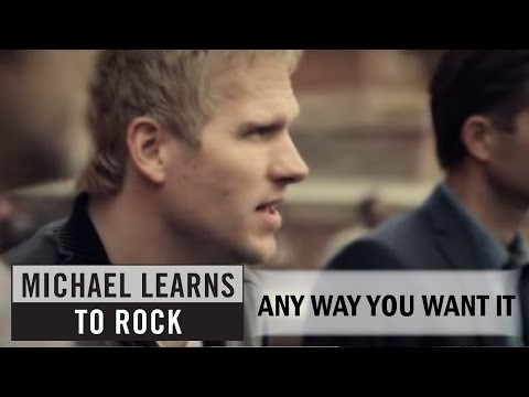 Michael Learns To Rock - Any Way You Want It [Official Video]