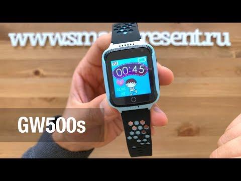 Детские умные часы-телефон C GPS, камерой и фонариком GW500s WONLEX