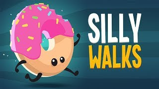 Silly Walks (Level 1 - 5) Gameplay | Android Adventure Game