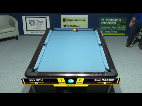 IPA English Open 2018 - Day 2 - Session 1