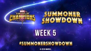 Marvel Contest of Champions: Summoner Showdown | Week 5