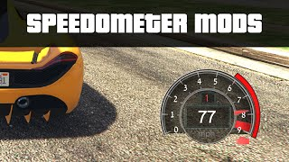VEHICLE SPEEDOMETERS   GTA 5 PC Mods