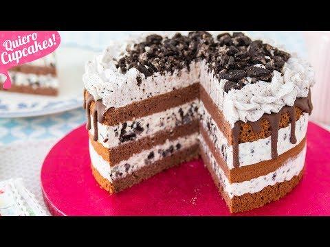 PASTEL HELADO DE OREO | Quiero Cupcakes!