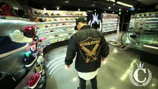 Breezy - Regulators Windbreaker Jacket (ft. Jordan @ Culture Kings Sydney)