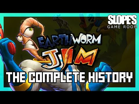 Earthworm Jim: The Complete History - SGR