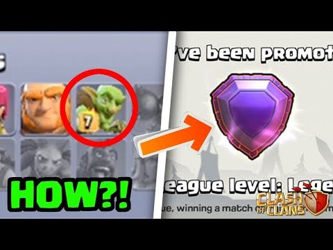 Getting To Legend League With ONLY Goblins! HOW?!   Clash Of Clans
