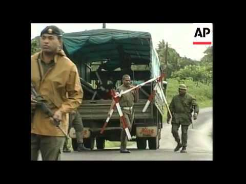 FIJI: MILITARY ACTIVITY AFTER SPEIGHT ARREST UPDATE