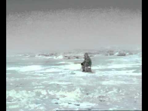 Eskimo Ice Fisherman Is Eaten By A Whale