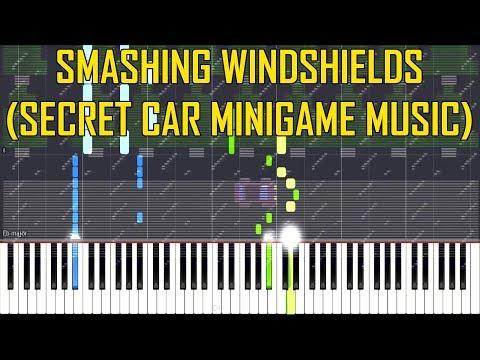 Smashing Windshields (Secret Car Minigame Music) - FNaF 6 [Synthesia Piano Tutorial] thumbnail