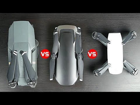 DJI Mavic AIr vs Mavic Pro vs Spark - Which One is best?
