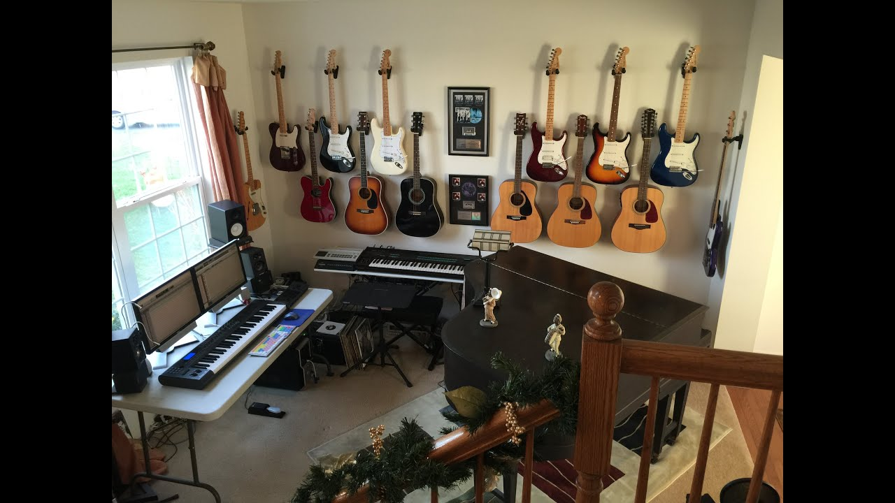 Full Bladder Recording Studio in The Music Room March 2