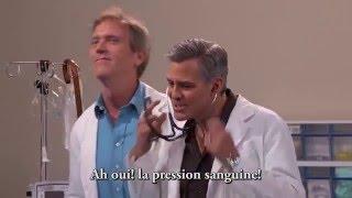 George Clooney et Hugh Laurie rejouent Urgences dans un sketch hilarant thumbnail
