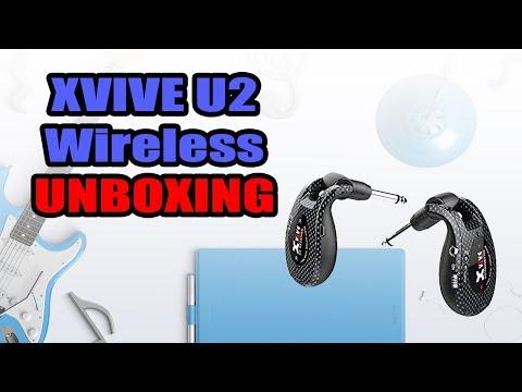 Xvive U2 Guitar Wireless (Unboxing & Demo) - #xviveu2