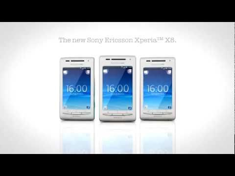 The New Sony Ericsson Xperia X8