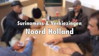 Surinamers & Verkiezingen Noord-Holland