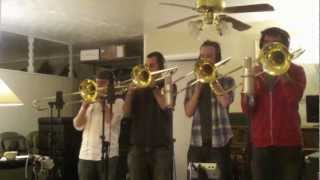 Carry On Wayward Son - Maniacal 4 Trombone Quartet