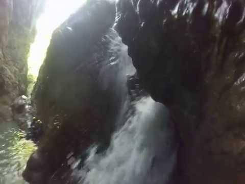 Aquactive canyoning Slovinsko