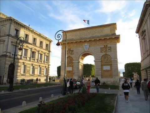 La Ciudad de Montpellier Languedoc Rosellón   Francia)