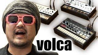 KORG volca beats がやって来た コルグ家庭訪問#01 アナログリズムマシン