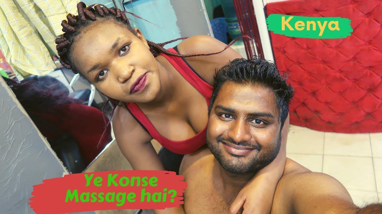What Really Happens Inside a Kenya Massage Shop || Must Watch ||