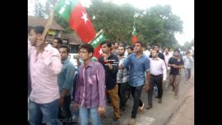 SDPI Protest At Chowki, Kasaragod