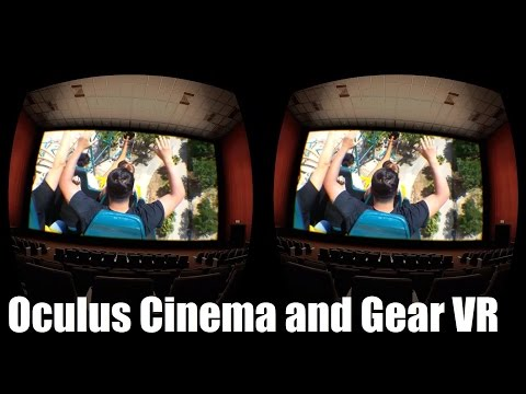 Watching movies in LiveViewRift on the Oculus Rift!